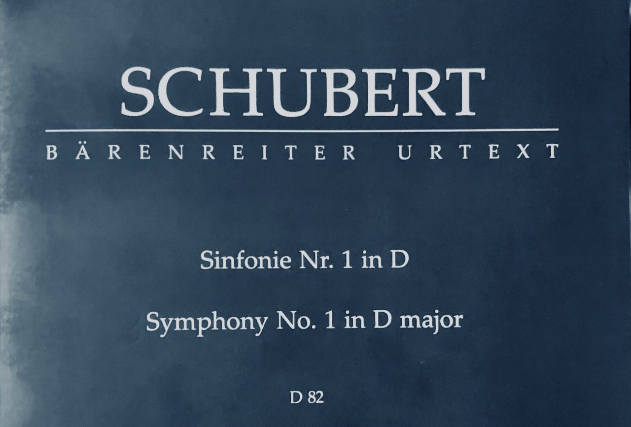 Analysis Schubert Symphony no. 1