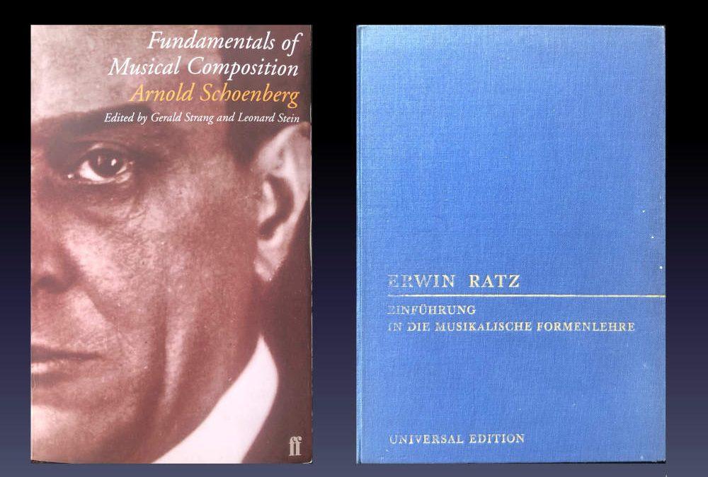 Books by Schönberg and Ratz